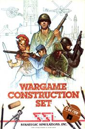 Box cover for Wargame Construction Set on the Commodore 64.