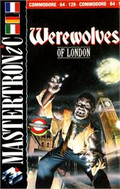 Box cover for Werewolves of London on the Commodore 64.