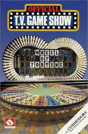 Box cover for Wheel of Fortune on the Commodore 64.