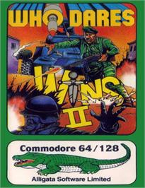 Box cover for Who Dares Wins II on the Commodore 64.