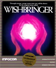Box cover for Wishbringer on the Commodore 64.