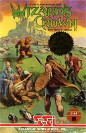 Box cover for Wizard's Crown on the Commodore 64.