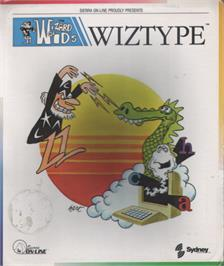 Box cover for Wizard of ID's WizType on the Commodore 64.