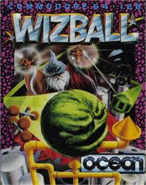 Box cover for Wizball on the Commodore 64.