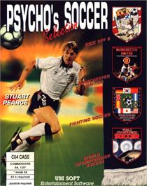 Box cover for World Championship Soccer on the Commodore 64.