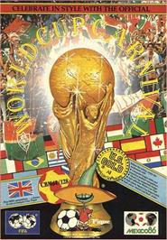 Box cover for World Cup Carnival on the Commodore 64.