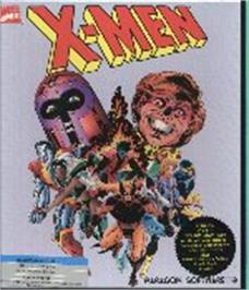 Box cover for X-Men: Madness in the Murderworld on the Commodore 64.