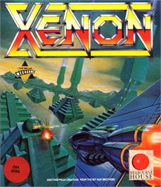 Box cover for Xenon on the Commodore 64.