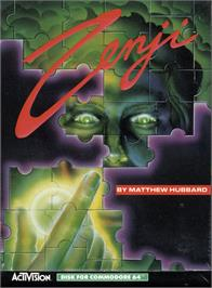 Box cover for Zenji on the Commodore 64.