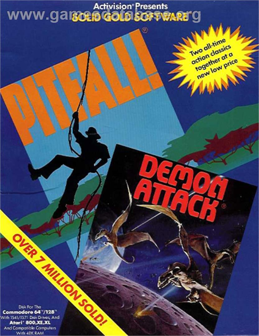 Demon Attack - Commodore 64 - Artwork - Box