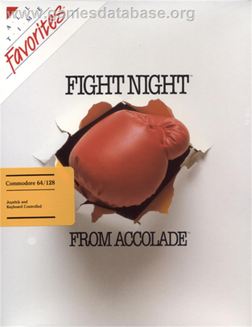 Fight Night - Commodore 64 - Artwork - Box
