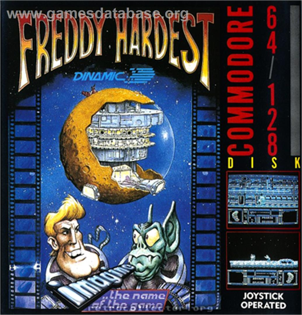 Freddy Hardest - Commodore 64 - Artwork - Box