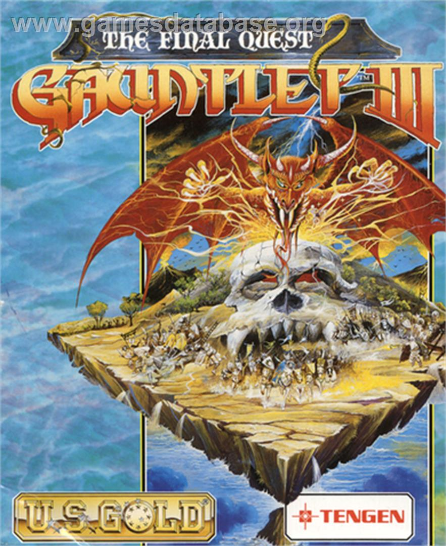 Gauntlet III: The Final Quest - Commodore 64 - Artwork - Box