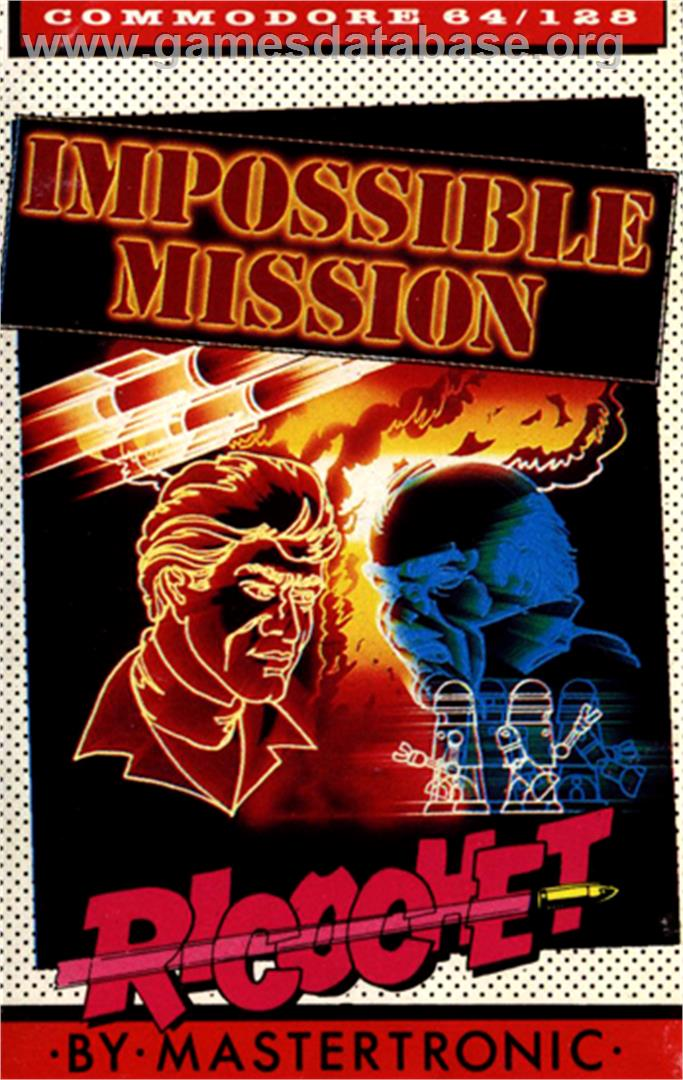 Impossible Mission - Commodore 64 - Artwork - Box