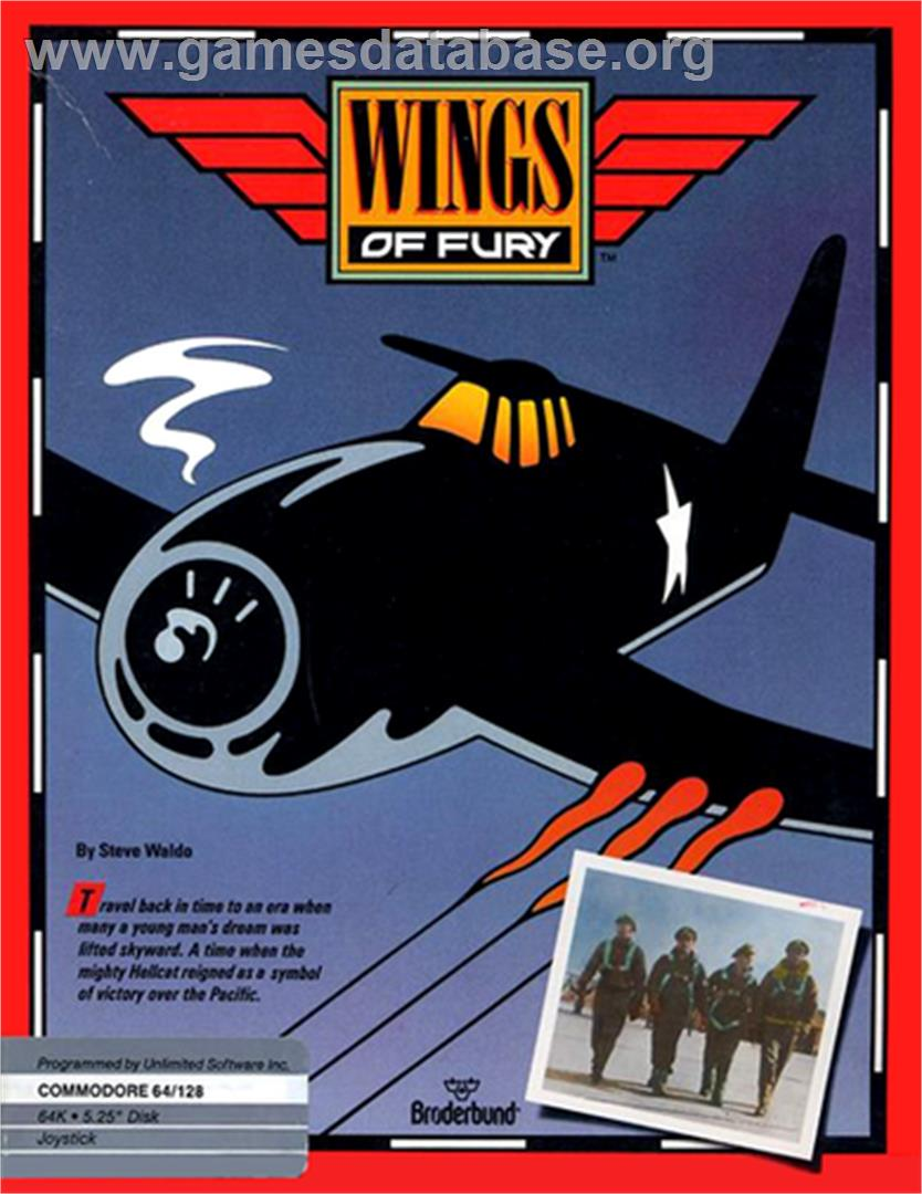 Wings of fury commodore 64 games database for Wings of fury