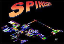 Game map for Spindizzy on the Amstrad CPC.