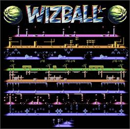 Game map for Wizball on the Atari ST.