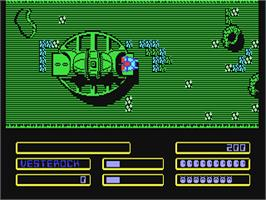 In game image of Agent Orange on the Commodore 64.
