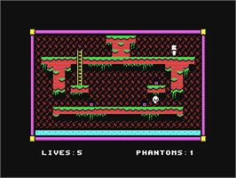 In game image of Alter Ego: Male Version on the Commodore 64.