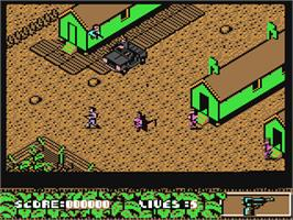 In game image of Arnie 2 on the Commodore 64.