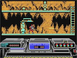 In game image of Baal on the Commodore 64.