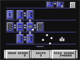 In game image of Bulldog on the Commodore 64.