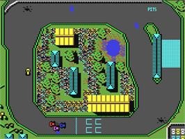 In game image of Carnage on the Commodore 64.