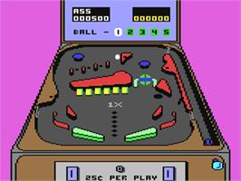 In game image of Clubhouse Sports on the Commodore 64.