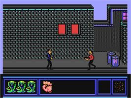 In game image of Cobra on the Commodore 64.