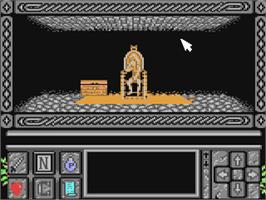 In game image of Death Bringer on the Commodore 64.