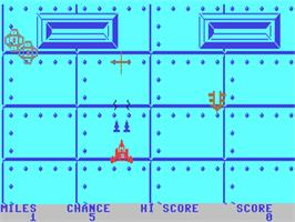 In game image of Espial on the Commodore 64.