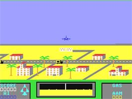 In game image of Falcon Patrol on the Commodore 64.