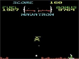 In game image of Fort Apocalypse on the Commodore 64.