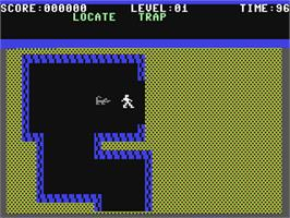 In game image of Gateway to Apshai on the Commodore 64.
