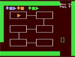 In game image of Gertrude's Secrets on the Commodore 64.