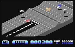 In game image of H.A.T.E. on the Commodore 64.