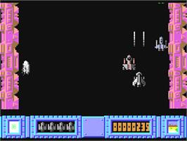 In game image of I.C.U.P.S. on the Commodore 64.