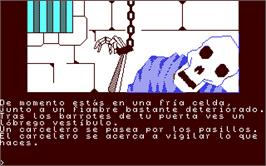 In game image of Jabato on the Commodore 64.