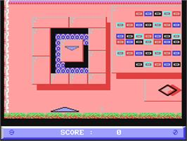 In game image of Jinks on the Commodore 64.