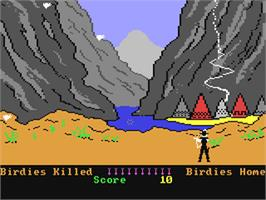 In game image of Kane on the Commodore 64.