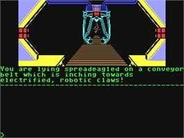 In game image of Kayleth on the Commodore 64.