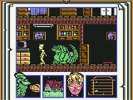 In game image of MOT on the Commodore 64.