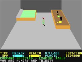 In game image of Mad Doctor on the Commodore 64.