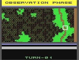 In game image of Nam on the Commodore 64.