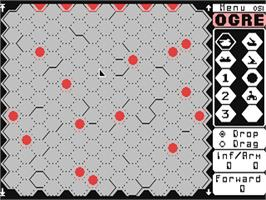 In game image of Ogre on the Commodore 64.