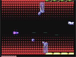 In game image of Phobia on the Commodore 64.