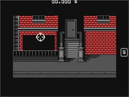 In game image of Prohibition on the Commodore 64.