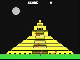 In game image of Quest for Quintana Roo on the Commodore 64.