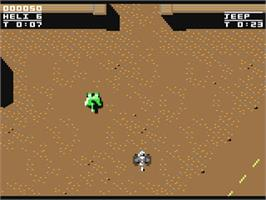 In game image of S.W.I.V. on the Commodore 64.