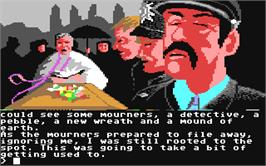 In game image of Scapeghost on the Commodore 64.